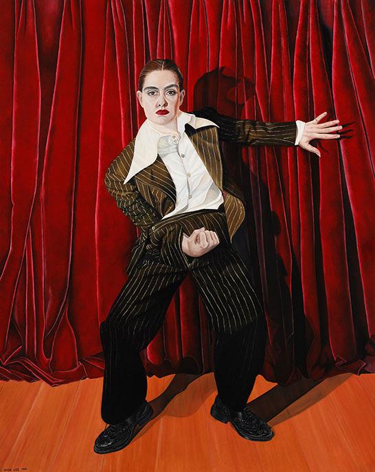 """Sadie Lee """"Venus Envy"""" rippus kuni eilseni Tallinnas """"Pussy Envy"""" näituse raames."""