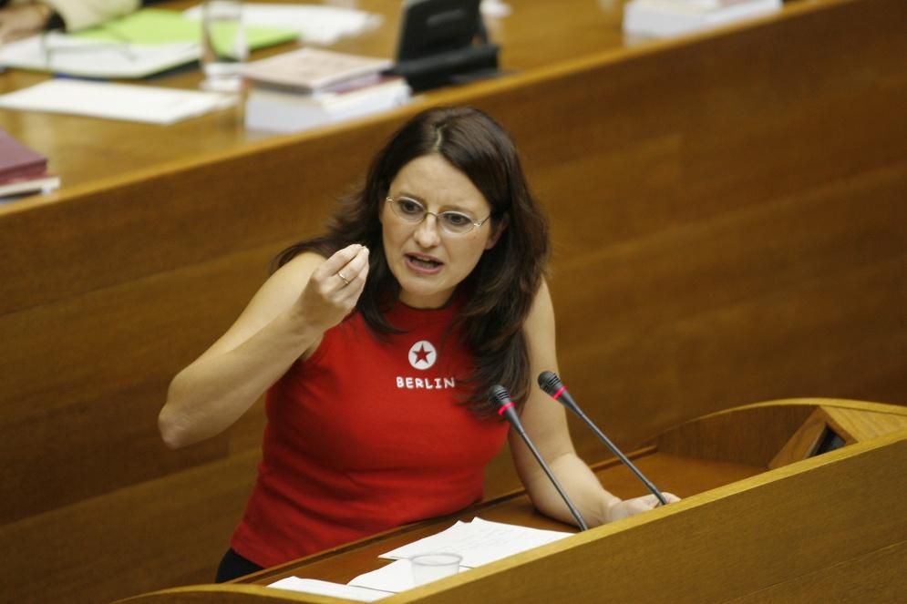 Monica Oltra (erakond Compromis, Valencia). Foto: Jose Jordan