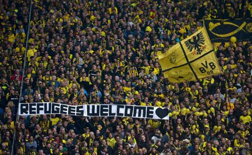 Dortmundi jalkatiimi fännid