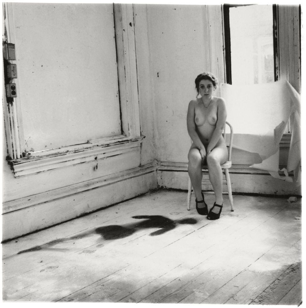 Francesca Woodman, Untitled, Providence, Rhode Island,1976 © George and Betty Woodman