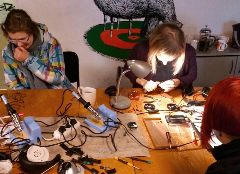 Ladyfesti Skeemipesa workshop