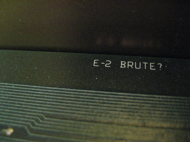 John R. Southern. IMG_0338. detail - E-2 BRUTE?. Flickr CC.