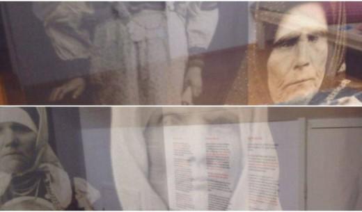 """Üleval: Treiali Ode Saatse All: Martina Iro.  Andreas Kalkuni ja Aapo Roseliuse näitus """"Lauluemade jälg"""""""