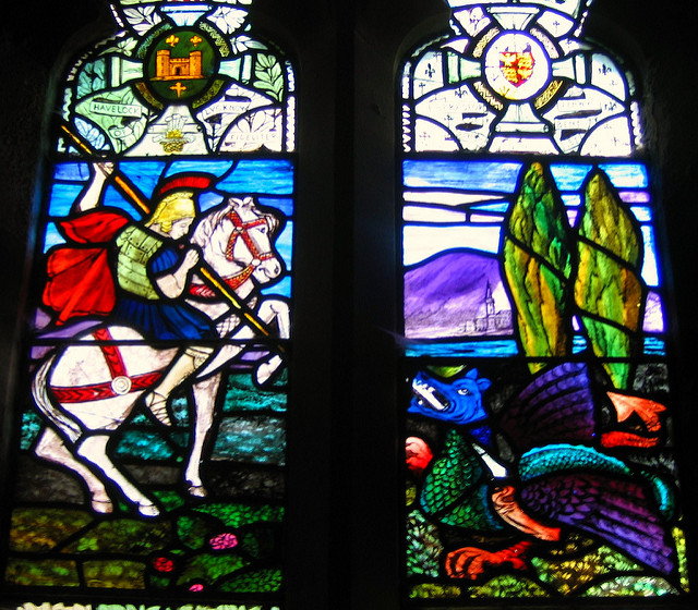 JR P. To All the Brits and Anglophiles Out There: Happy St. George's Day. Flickr CC.