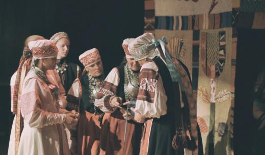 Seto naiste ja meestelaul. Foto: Aivo Põlluäär