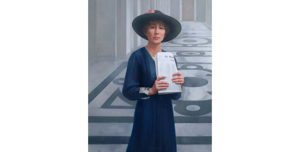 Jeannette Rankin / Collection of the U.S. House of Representatives